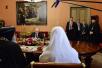 Встреча Святейшего Патриарха Кирилла с Президентом и Председателем Правительства России. Беседа В.В. Путина с Патриархом Коптским Тавадросом II