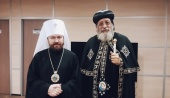 Завершился визит в Россию Коптского Патриарха Тавадроса II