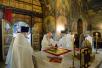 Патриаршее служение в праздник Вознесения Господня в Сретенском монастыре. Освящение храма Воскресения Христова и Новомучеников и исповедников Церкви Русской