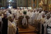 Под председательством Предстоятеля Украинской Православной Церкви начались торжества по случаю 25-летия Харьковского Архиерейского Собора