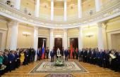 Слово Святейшего Патриарха Кирилла на церемонии вручения знака почетного гражданина Санкт-Петербурга