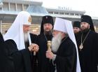 Святейший Патриарх Кирилл прибыл в Бишкек