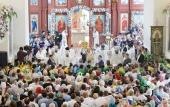 Предстоятель Русской Церкви освятил Воскресенский кафедральный собор в Бишкеке