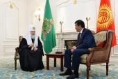 Состоялась встреча Святейшего Патриарха Кирилла с Премьер-министром Киргизской Республики С.Ш. Жээнбековым
