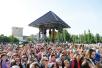 Патриарший визит в Киргизскую Республику. Освящение закладного камня в основание нового здания Владимирской школы в Бишкеке