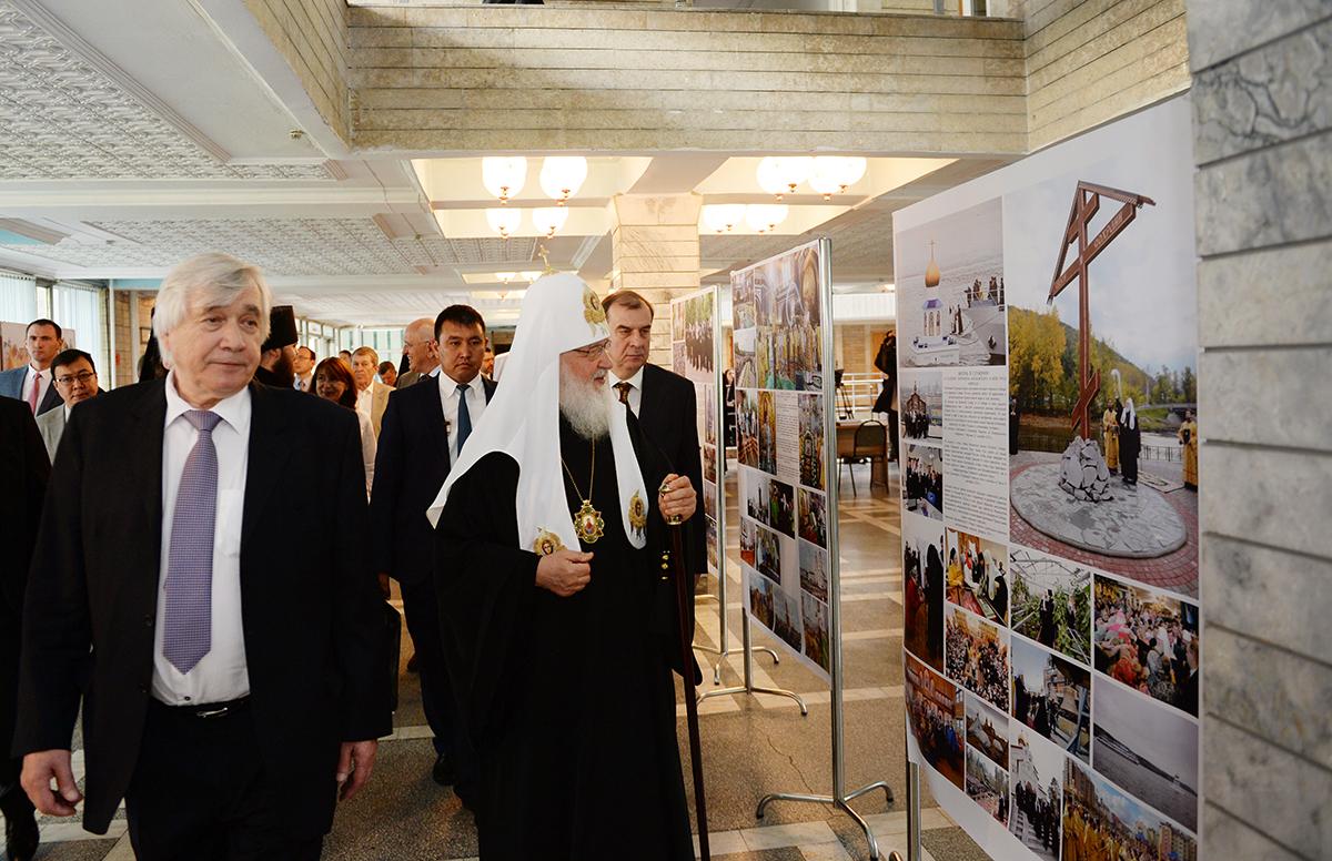Патриарший визит в Киргизскую Республику. Презентация книги «Свобода и ответственность» на киргизском языке