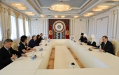 Патриарший визит в Киргизскую Республику. Встреча с Президентом Кыргызстана А.Ш. Атамбаевым