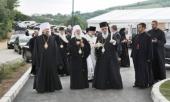 Иерарх Русской Православной Церкви принял участие в освящении храма в сербском селе Байчетина