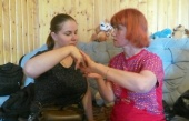 Участники курсов тифлосурдокоммуникации, организованных Синодальным отделом по благотворительности, прошли практику в социальных проектах помощи слепоглухим