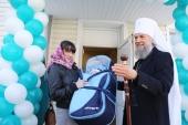 За год Церковь открыла 55 новых центров гуманитарной помощи