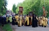 Предстоятель Русской Церкви примет участие в Великорецком крестном ходе