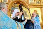 Завершилось пребывание чудотворной иконы Божией Матери «Умягчение злых сердец» в Казахстане