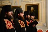 Слово архимандрита Фомы (Демчука) при наречении во епископа Гдовского, викария Псковской епархии