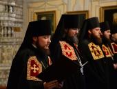 Слово архимандрита Серафима (Амельченкова) при наречении во епископа Люберецкого, викария Патриарха Московского и всея Руси