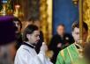 Патриаршее служение в праздник Святой Троицы в Троице-Сергиевой лавре. Хиротония архимандрита Серафима (Амельченкова) во епископа Люберецкого