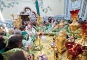 Блаженнейший митрополит Онуфрий возглавил хиротонию архимандрита Виктора (Коцабы) во епископа Барышевского, викария Киевской митрополии