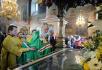 Патриарший визит в Вятскую митрополию. Посещение Успенского Трифонова мужского монастыря г. Кирова и Вятской православной гимназии