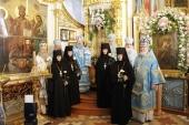 В Корецком монастыре состоялись торжества по случаю праздника Корецкой иконы Божией Матери «Споручница грешных»