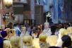 Патриаршее служение в Троицком храме г. Реутова. Хиротония архимандрита Мелетия (Павлюченкова) во епископа Рославльского и Десногорского. Возложение цветов к Мемориалу славы