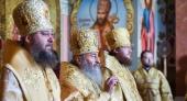 В Неделю Всех святых Блаженнейший митрополит Онуфрий совершил Литургию в Успенском соборе Киево-Печерской лавры