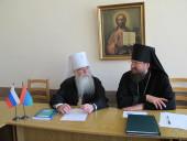 В Олонце состоялось очередное заседание Архиерейского совета Карельской митрополии
