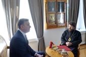 Председатель ОВЦС встретился с послом Австралии в России