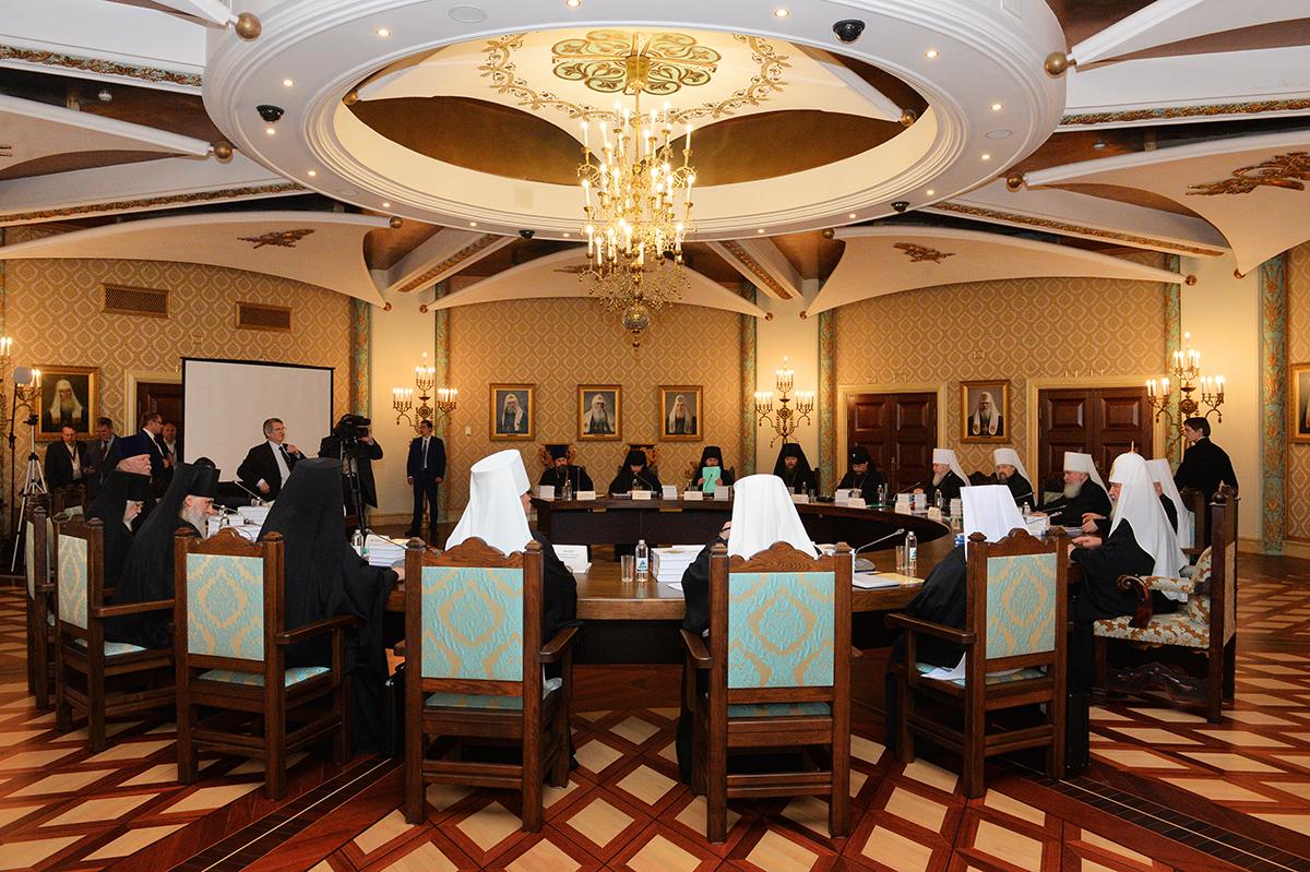 Заседание Высшего Церковного Совета 13 июня 2017 года