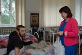 Состоялась очередная встреча волонтеров службы «Добро» Саратовской епархии с инвалидами Центра социальной адаптации для лиц без определенного места жительства