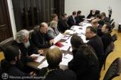 Митрополит Минский и Заславский Павел возглавил очередное заседание Ученого совета Минской духовной академии