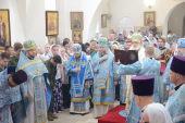Патриарший экзарх всея Беларуси возглавил торжества по случаю праздника Марьиногорской иконы Божией Матери