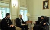 Митрополит Волоколамский Иларион встретился с послом Македонии в России