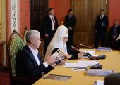 Слово Святейшего Патриарха Кирилла на VII заседании Попечительского совета Фонда поддержки строительства храмов г. Москвы