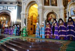 Проповедь Святейшего Патриарха Кирилла в Неделю 2-ю по Пятидесятнице после Литургии в Храме Христа Спасителя в Москве