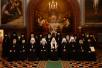 Патриаршее служение в Неделю 2-ю по Пятидесятнице в Храме Христа Спасителя. Хиротония архимандрита Аксия (Лобова) во епископа Нерчинского и Краснокаменского
