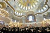 Церемония выпуска офицеров ВМФ прошла в кронштадтском Морском соборе