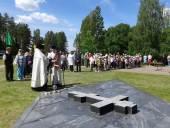 В 73-ю годовщину убийства мирных жителей белорусской деревни Дальва на месте трагедии совершено заупокойное богослужение