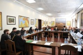 Вопросы кодификации церковно-правовых источников и канонических прещений обсуждались на заседании комиссии Межсоборного присутствия по церковному праву