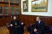 Председатель ОВЦС встретился с заместителем Первого Европейского департамента МИД России
