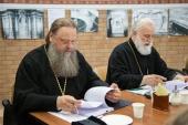 Состоялось очередное заседание комиссии Межсоборного присутствия по церковному просвещению и диаконии
