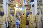Митрополита Волоколамского Илариона поздравили с тридцатой годовщиной служения в священном сане
