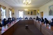 Председатель ОВЦС встретился с делегацией представителей монашества Коптской Церкви