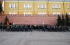 Возложение венка в 76-ю годовщину начала Великой Отечественной войны к могиле Неизвестного солдата у Кремлевской стены