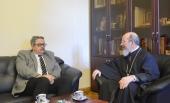 Заместитель председателя Отдела внешних церковных связей встретился с новоназначенным послом России в Турции