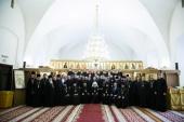 Патриарший экзарх всея Беларуси вручил дипломы выпускникам Минской духовной семинарии