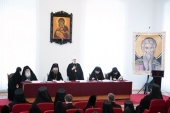 В Жировичском монастыре прошла монашеская конференция «Преподобный Феодор Студит — игумен общежительного монастыря»