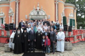 Патриарший наместник Московской епархии возглавил великое освящение восстановленного Спасского храма в подмосковном селе Уборы