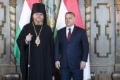 Иерарх Русской Православной Церкви встретился с Премьер-министром Венгрии