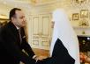 Встреча Святейшего Патриарха Кирилла с послом Армении в России Варданом Тоганяном