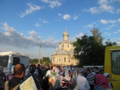 На Буковине начался большой крестный ход с Десятинной иконой Богородицы
