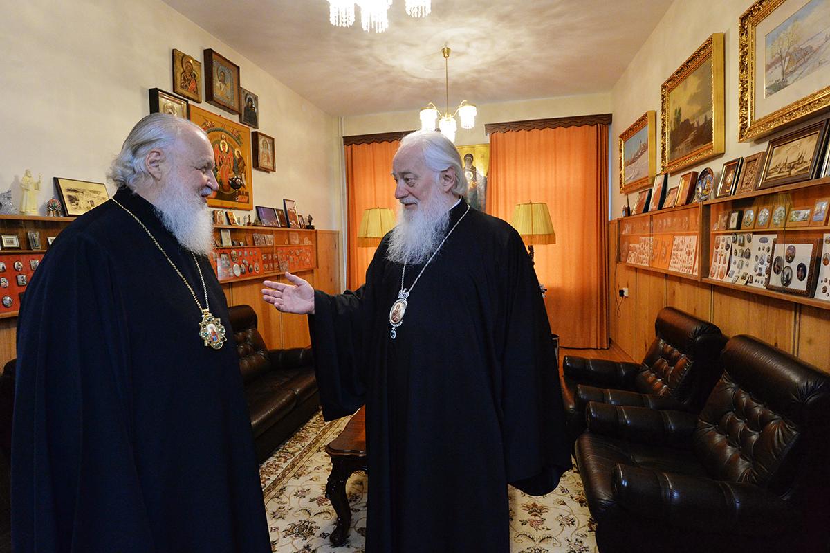 Патриарший визит в Новгородскую митрополию. Посещение резиденции Новгородских митрополитов в Великом Новгороде